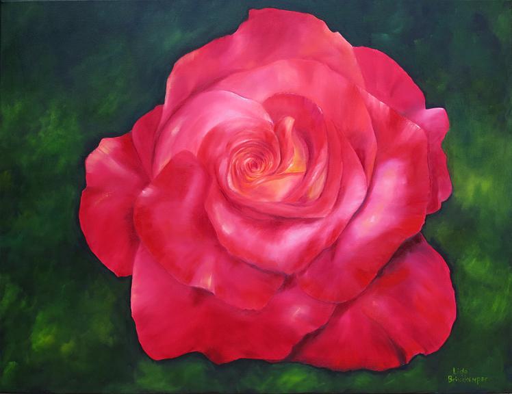Schilderij Mooie Witte Roos Schilderijen Thema Bloemen Rozen